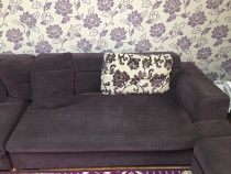 6 Seater sofa set in good condition for sale along with the rug