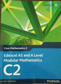 Edexcel Core Mathematics 2 C2 for Sale with CD ROM