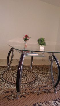 Dinning Table,office table &mini fridge. Urgent sale due to relocation.