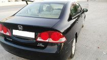 Honda Civic GCC Spec Black color for sale in Dubai
