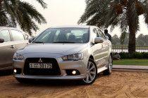 Lancer EX GT for sale in Dubai - Top end variant under warranty