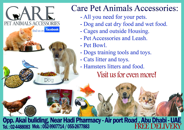 Care Pet Animals Accessories Shop
