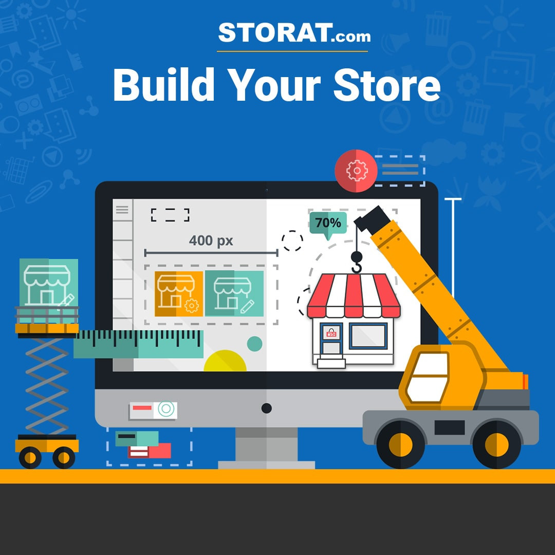Storat is a social marketplace for small businesses to build an online store for free. Here is how you can configure a great looking Store on Storat https://uae.storat.com/stories/four-tips-to-create-a-great-looking-store-on-storatcom-1