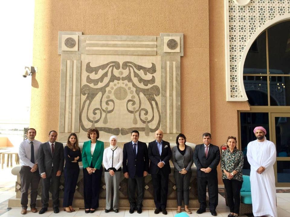 Amandla! Adel Alhaimi gets to meet Jordanian powerhouse Ehab Shanti