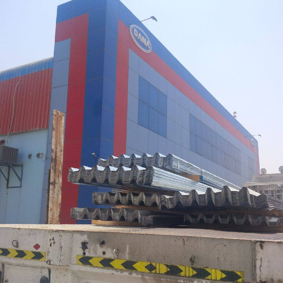 DANA Steel(www.danasteeluae.com) is one of the leading manufacturers of various value added steel products manufactured from flat & long steel products.Our range included corrugated roofing profile sheets,decking sheets,gi & ppgi sheets,Fencing hoarding