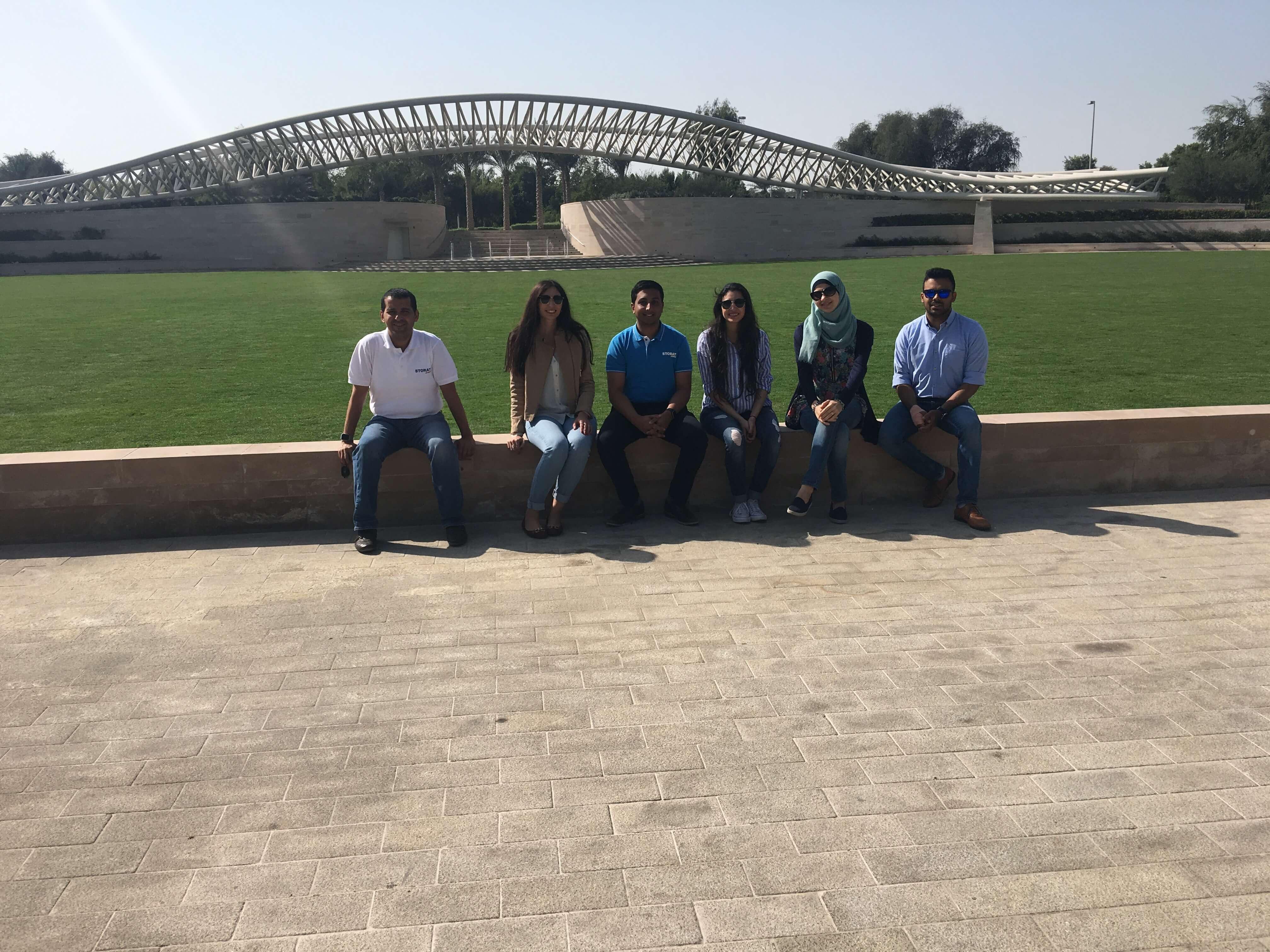 Storat Abu Dhabi team