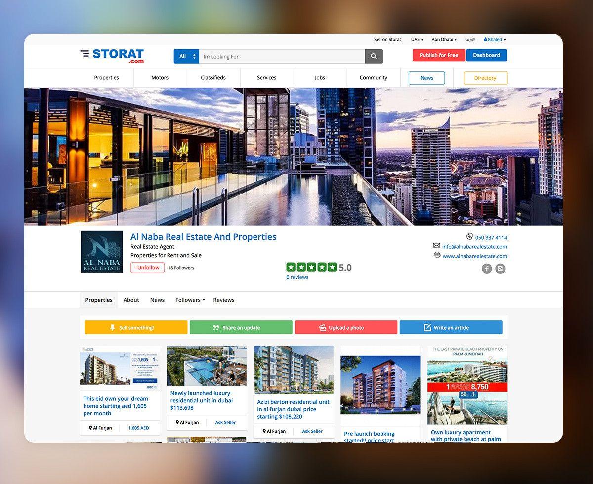 Real Estate Store on Storat.com