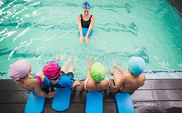 Professional Monthly Swimming classes for kids in Abu Dhabi